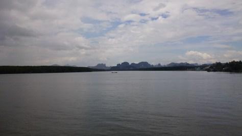 Vistas desde Ao Nang, Krabi, Tailandia, 2015