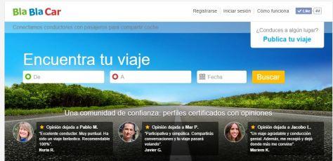 Web BlaBlaCar