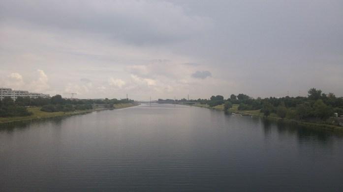 Isla del Danubio, Viena, Austria, junio 2016 | viajarcaminando.org