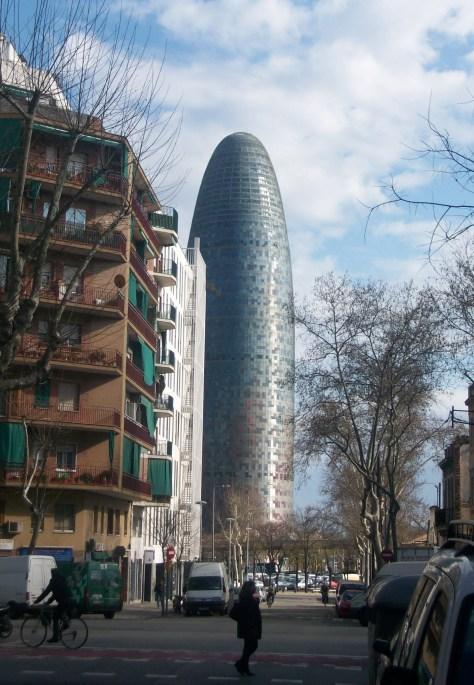 La Torre Agbar, Barcelona 2010 | viajarcaminando.org