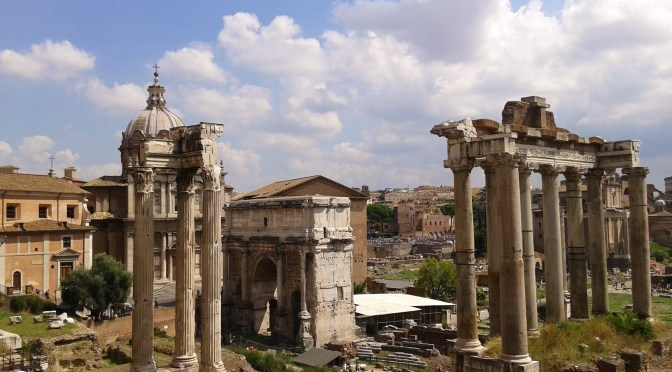 Foro Romano, Roma, Italia, 2013 | viajarcaminando.org