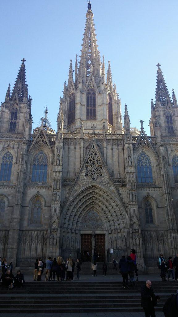 La Catedral de Barcelona, Barcelona 2016 | viajarcaminando.org