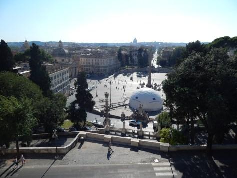 Piazza del Popolo, Roma, Italia, 2013 | rominitaviajera