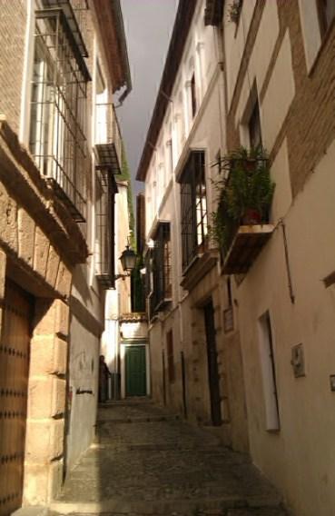 Callecita del Albaicín, Granada, 2010