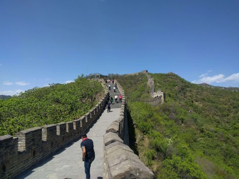 Gran Muralla China, Mutianyu, Pekín, China, 2017