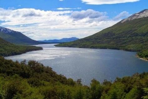 Lago Escondido, Ruta de los 7 Lagos, Argentina, Noviembre 2017
