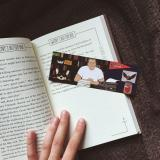 """A bookmark by Jessica featuring Molly aka """"The Thing of Evil"""" (Kings dog)"""