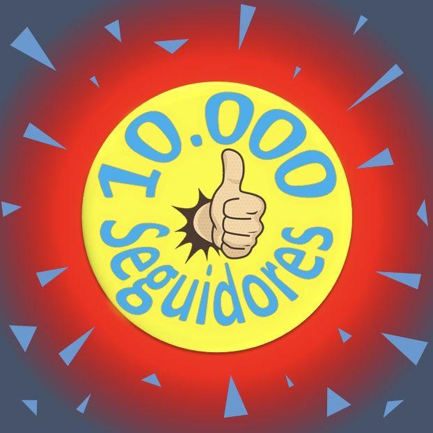 Selo de 10.000 inscritos