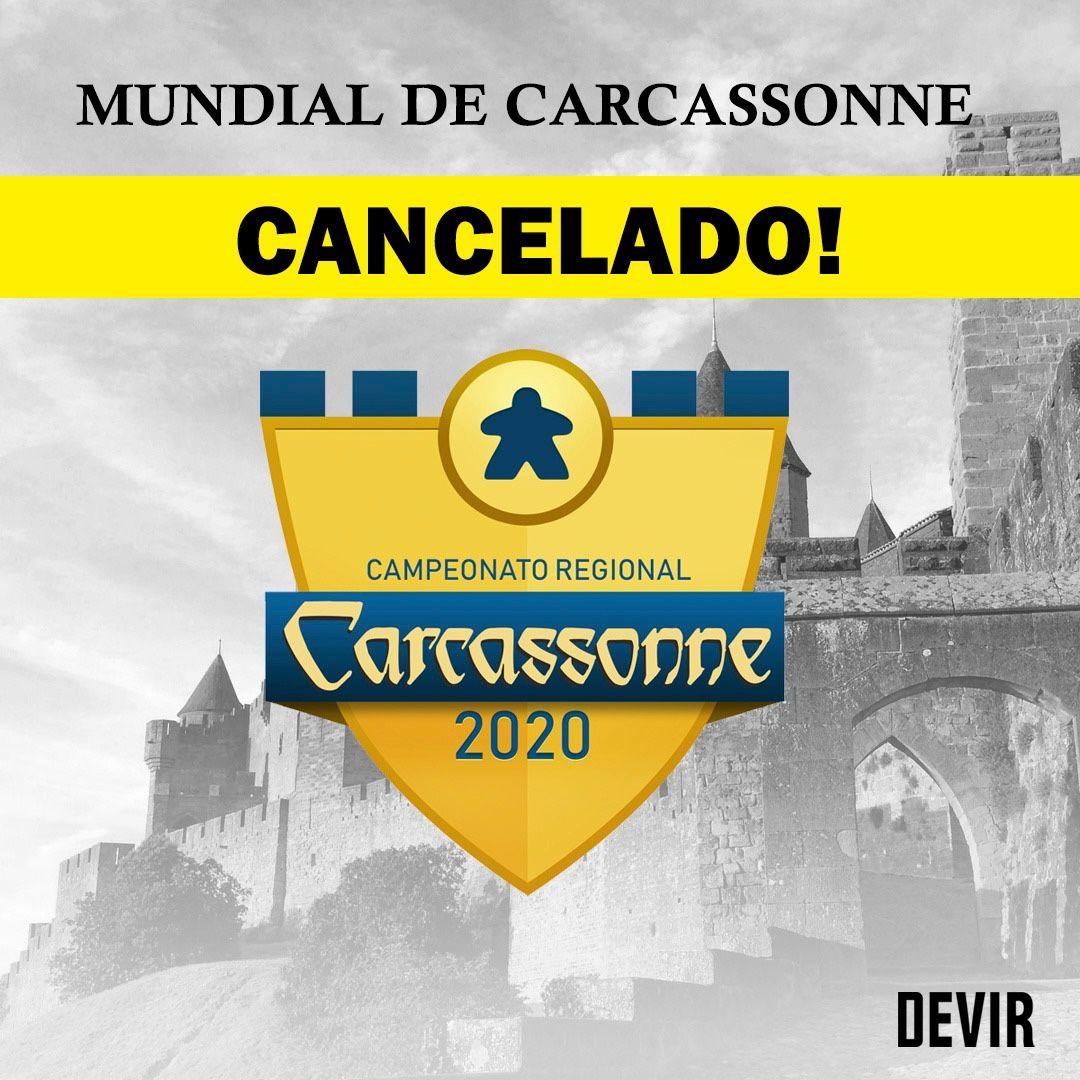Read more about the article Campeonato Mundial de Carcassonne 2020 Cancelado