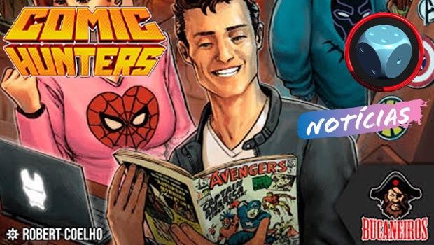 Read more about the article Comic Hunters Esgotado e Novidades