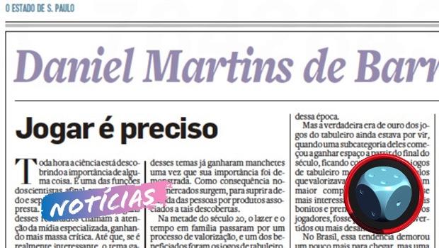 Read more about the article Jogos de Tabuleiro na Mídia Escrita