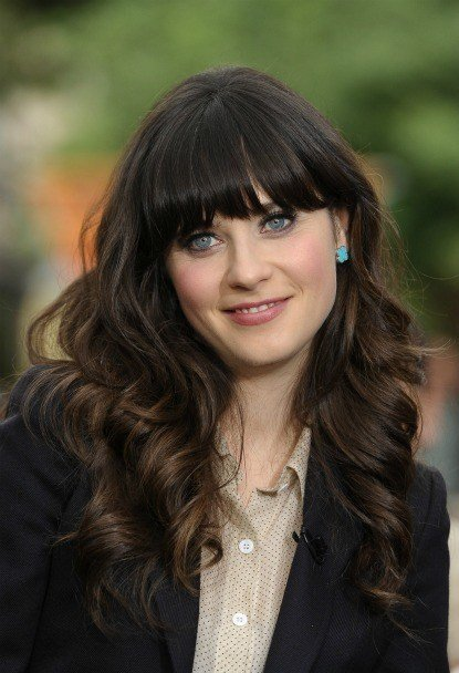The Best Girl Crush Zooey Deschanel 'S Hair Thanks For Asking Pictures