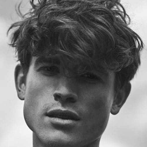 The Best 25 Best Messy Hairstyles For Men 2019 Update Pictures