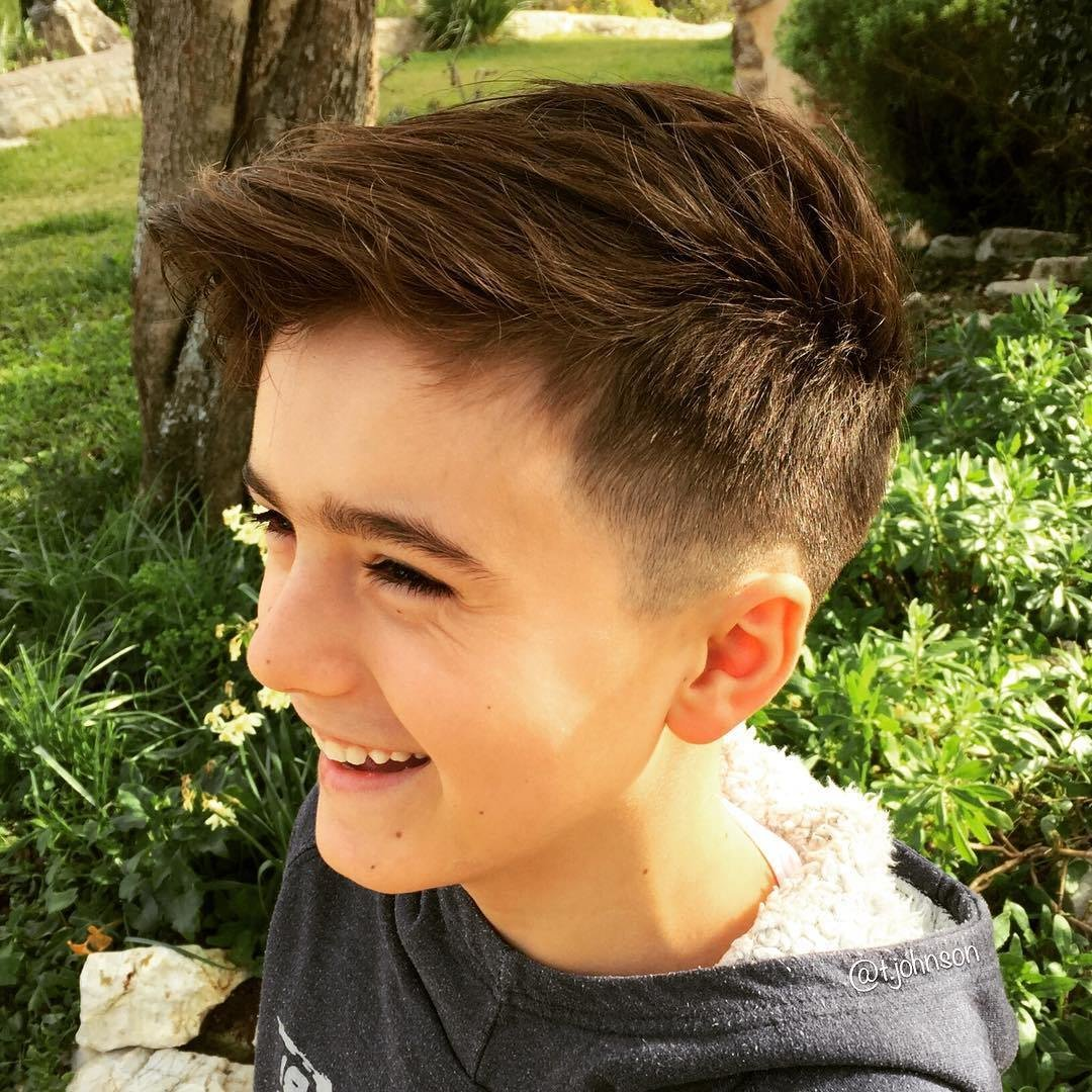 The Best Boys Haircuts Of 2019 25 Popular Styles Pictures