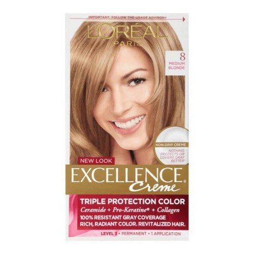 The Best Lorealexcellence Triple Protection Hair Color Creme Medium Pictures