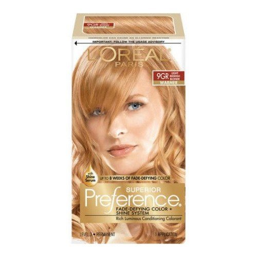 The Best Loreal Superior Preference Hair Color 9Gr Light Golden Pictures