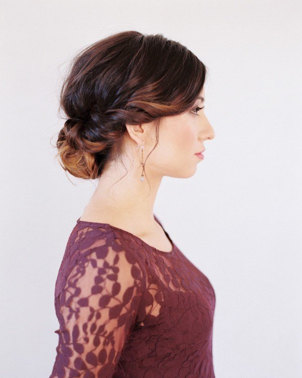 The Best Wedding Hairstyles For Medium Hair Tutorial Once Wed Pictures