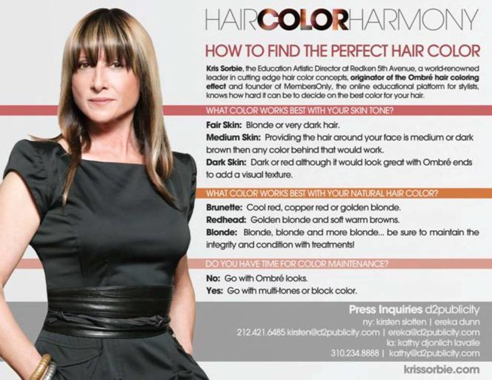 The Best Find Your Perfect Hair Color Thanks To Redken And Kris Pictures