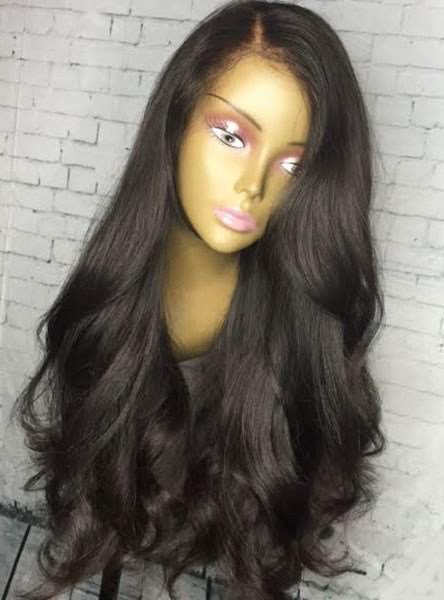 The Best 200 Density Loose Weave Lace Front Human Hair Wig Pictures