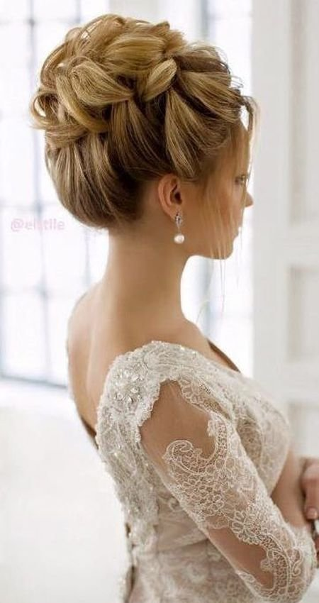 The Best 73 Unique Wedding Hairstyles For Different Necklines 2017 Pictures