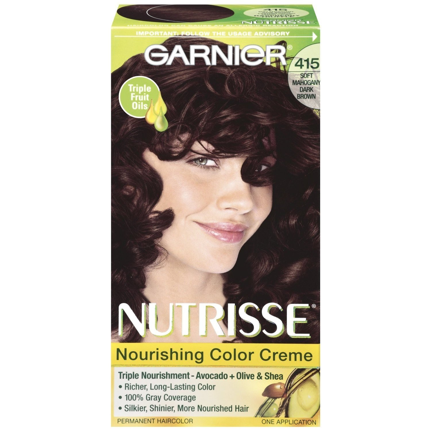 The Best Nutrisse Permanent Haircolor Soft Mahogany Dark Brown 415 Pictures