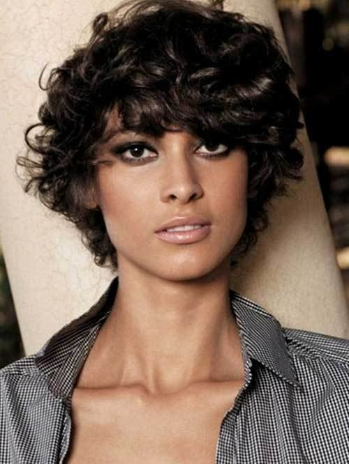 The Best Short Hairstyles For Curly Frizzy Hair Pictures