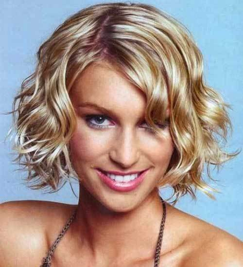 The Best 15 Latest Short Curly Hairstyles For Oval Faces Pictures