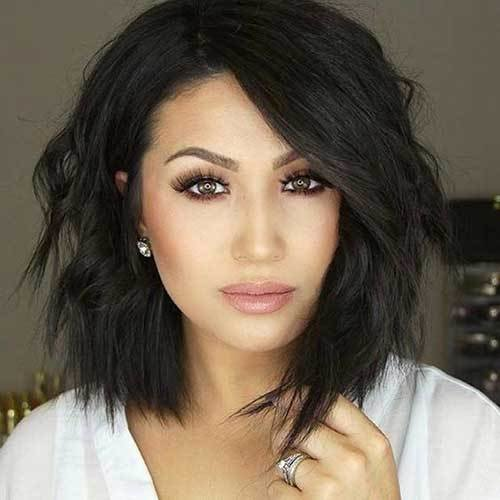 The Best 35 Best Layered Short Haircuts For Round Face 2018 Pictures
