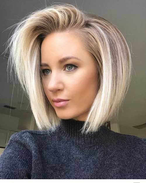 The Best Best Short Fine Hairstyles Women 2019 Pictures