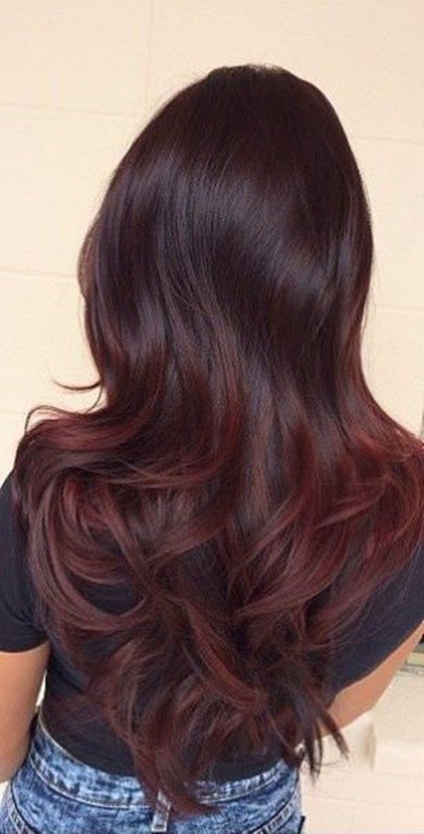The Best 49 Of The Most Striking Dark Red Hair Color Ideas Pictures