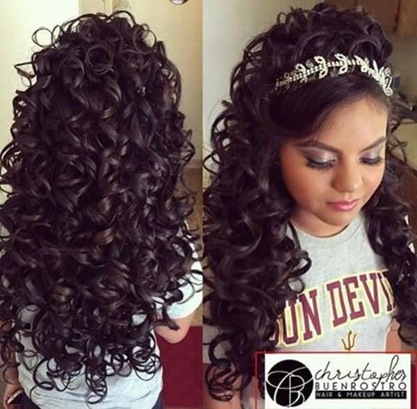 The Best 48 Of The Best Quinceanera Hairstyles That Will Make You Feel Like A Queen Pictures