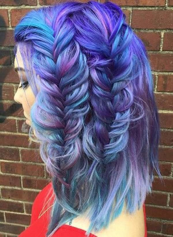 The Best 70 Breathtaking Mermaid Hairstyles That Are Vibrant Pictures