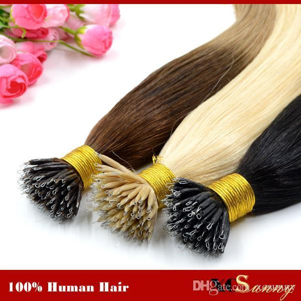 The Best Xcsunny 1820 Nano Bead Hair Extension Human Hair Tape Pictures
