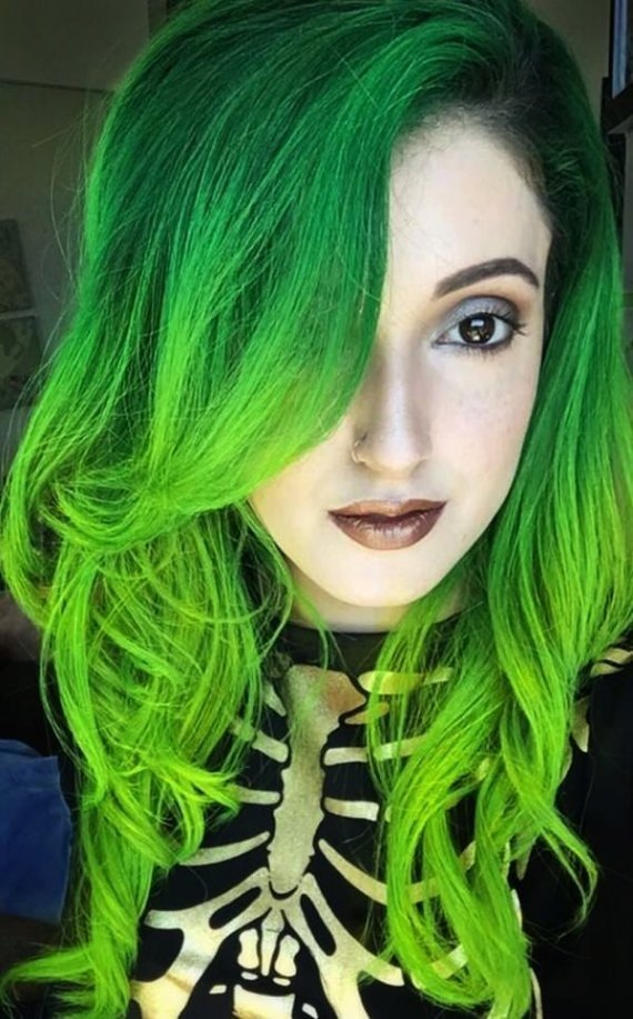 The Best Lovely Lime Green Hair Dye Part 6 40 Ombre Pictures