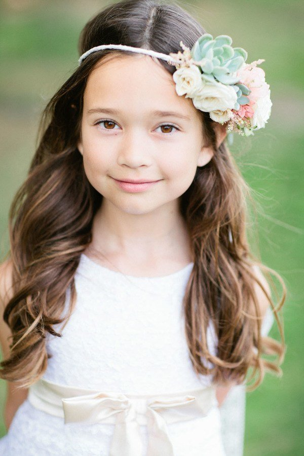 The Best 38 Super Cute Little Girl Hairstyles For Wedding Deer Pictures