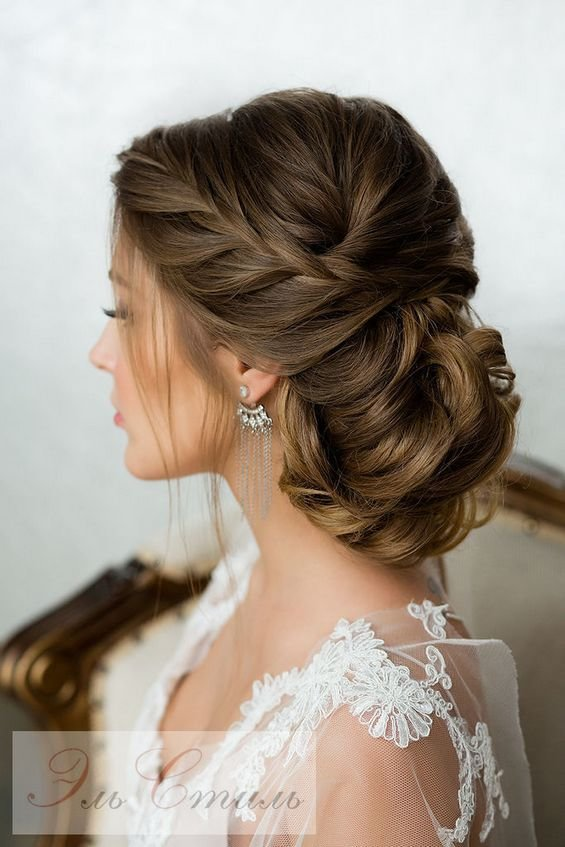 The Best 65 Long Bridesmaid Hair Bridal Hairstyles For Wedding Pictures