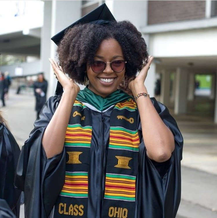 The Best Top Ways To Slay In Your Graduation Cap With Natural Hair Pictures