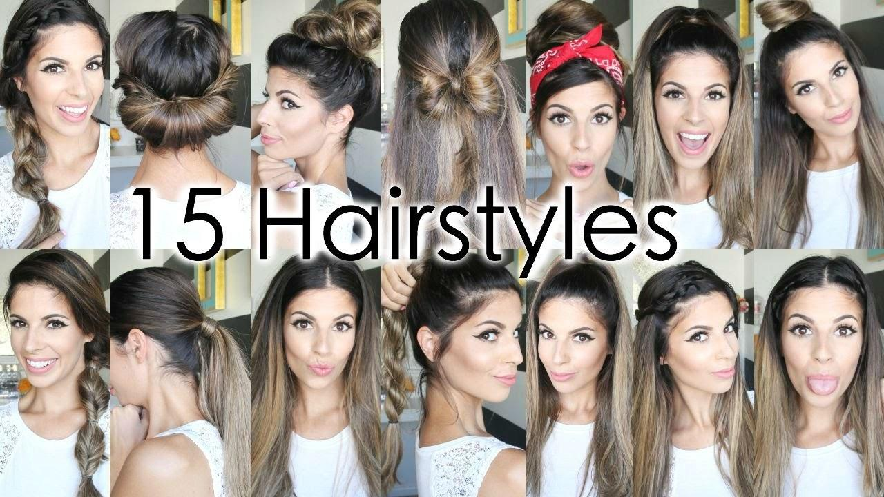 The Best 15 Back To School Heatless Hairstyles E Hairdressing Pictures