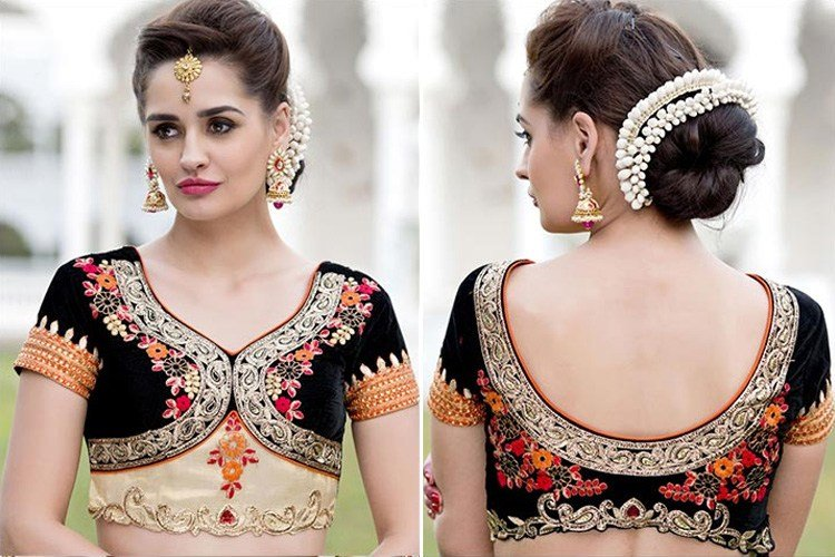 The Best 44 Types Of Saree Blouse Designs And Patterns Designer Pictures