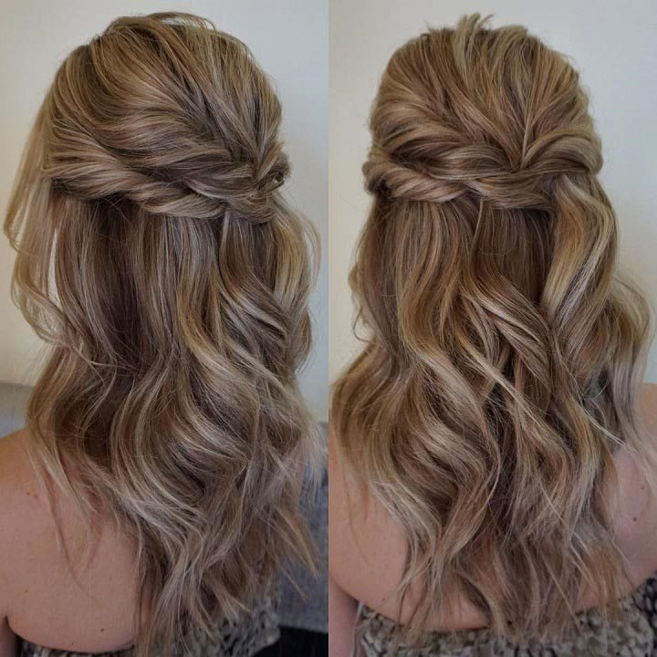 The Best 11 Gorgeous Half Up Half Down Hairstyles Pictures