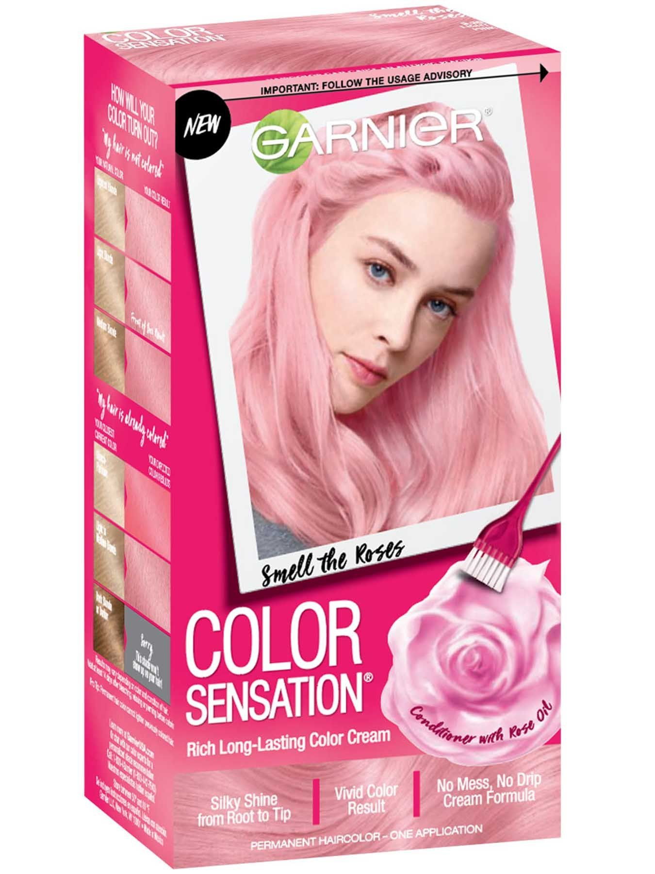 The Best Color Sensation Light Pink Hair Color Smell The Roses Pictures