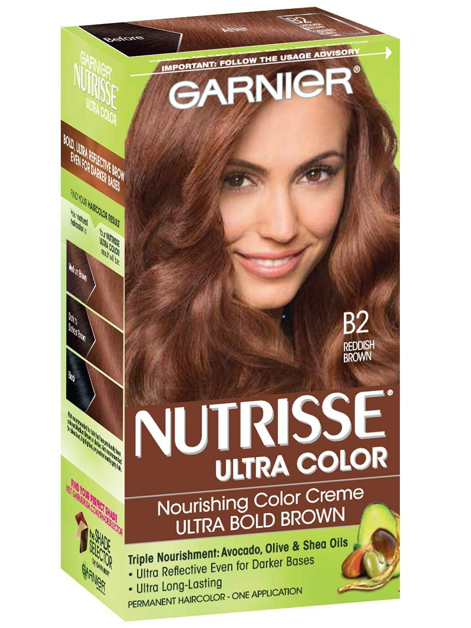The Best Nutrisse Ultra Color Reddish Brown Hair Color Garnier Pictures
