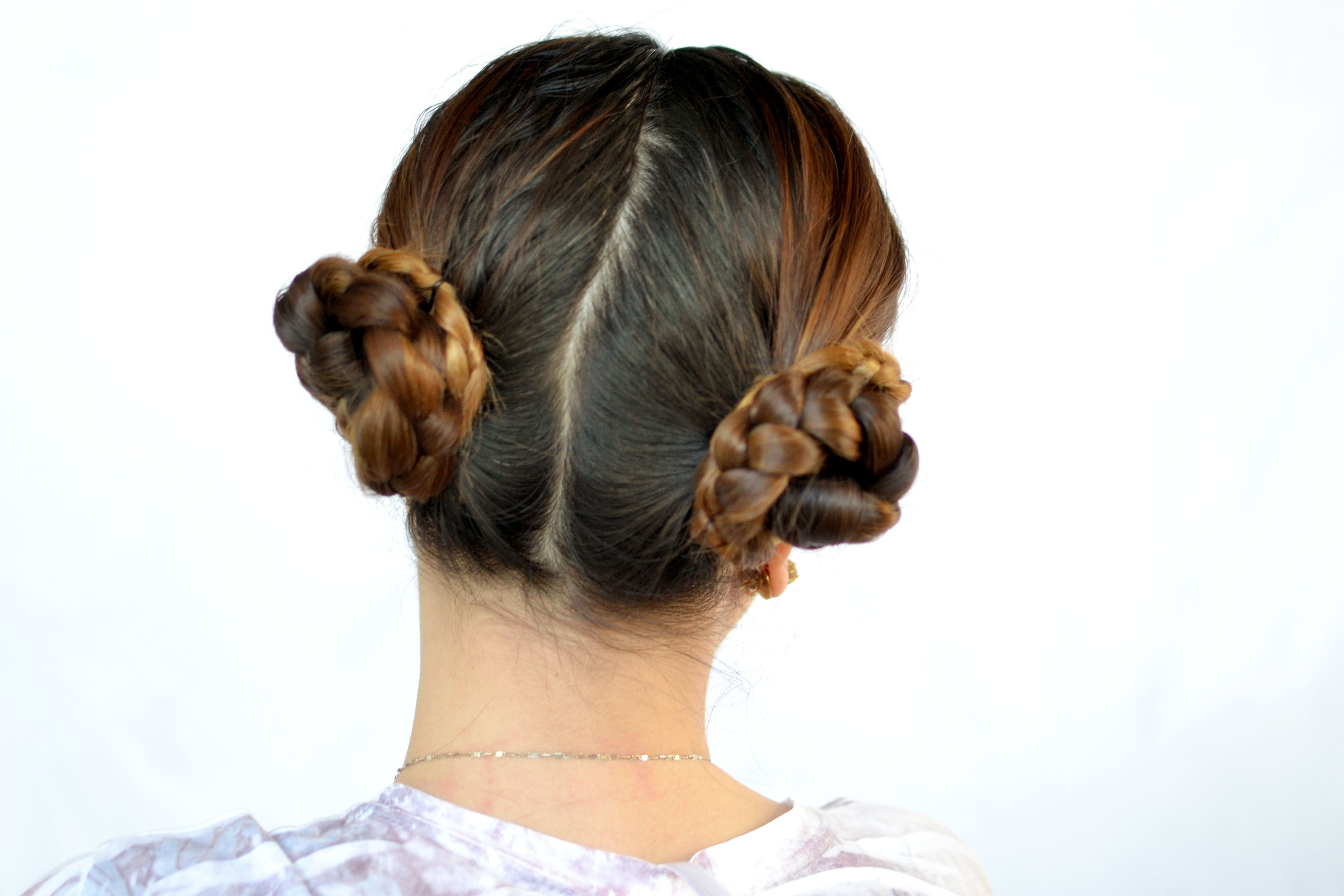 The Best 3 Ways To Create A Braided Cinnamon Bun Hairstyle Wikihow Pictures