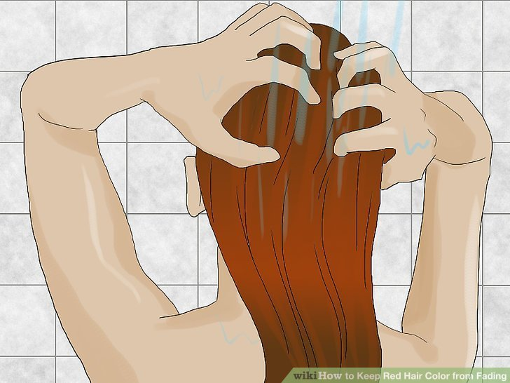 The Best How To Keep Red Hair Color From Fading 12 Steps With Pictures