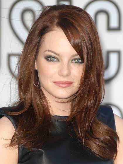 The Best Haircuts For Round Faces And Thick Hair 2018 Celebrity Pictures