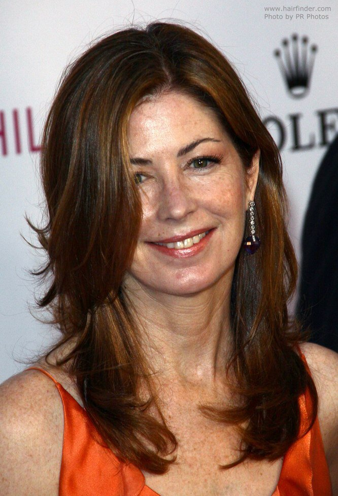 The Best Dana Delany Beautiful Long Hair For Aging Women Pictures