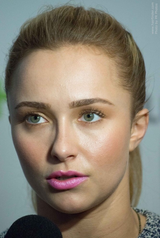 The Best Hayden Panettiere Laid Back Summer Hairstyle With A High Pictures