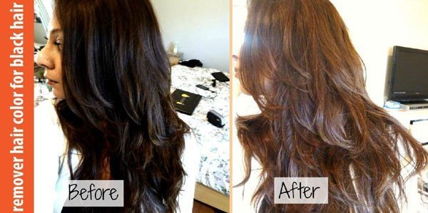 The Best Hair Color Remover Before And After The Secret Of Pictures