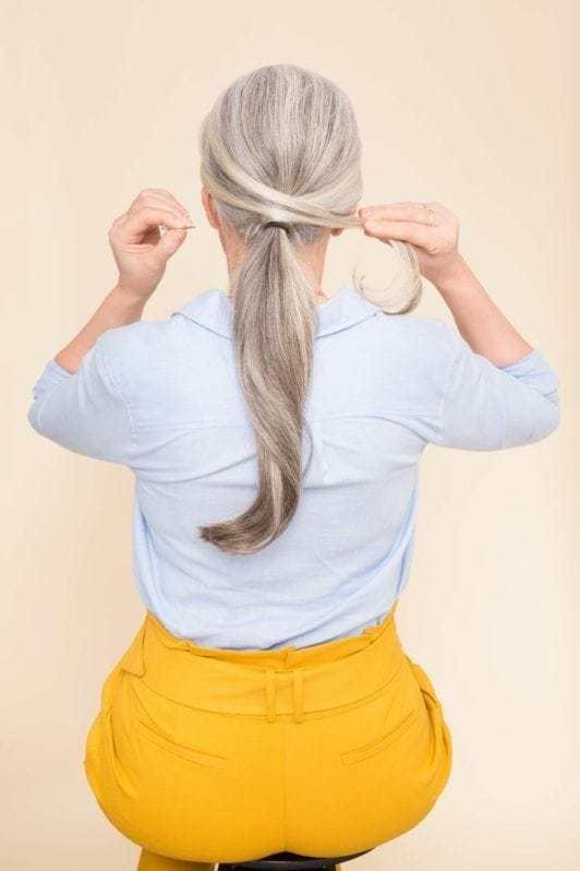 The Best Hairstyles For Women Over 50 The Sophisticated Pony Pictures