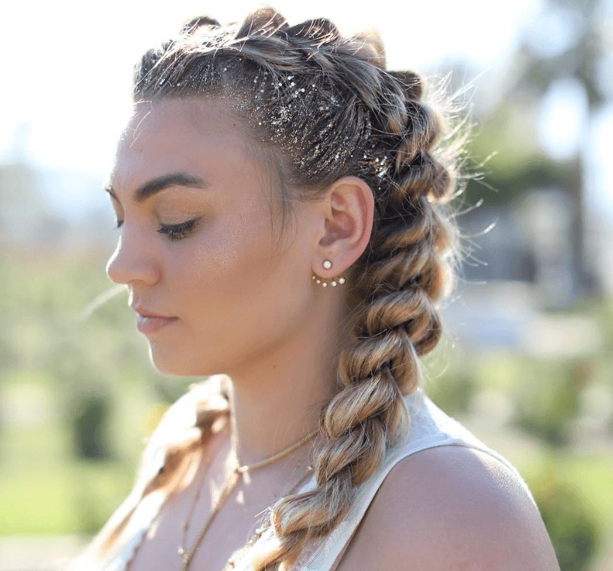 The Best Stunning Festival Braids You Should Learn To Create Now Pictures